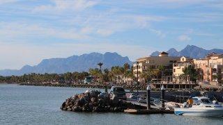 Ville de Loreto en basse californie