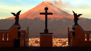 Volcan de Cholula au Mexique